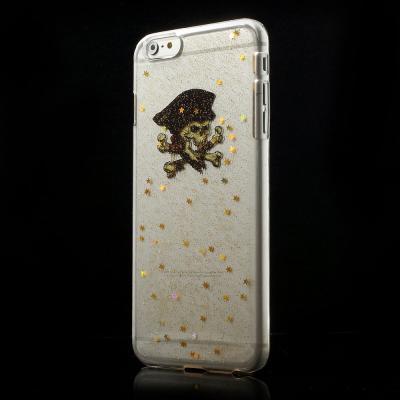 Glittery BaksideSkal till Apple iPhone 6(S) Plus - Pirate