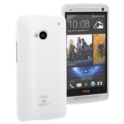 Goospery Jelly Case till HTC One (M7) (Vit)