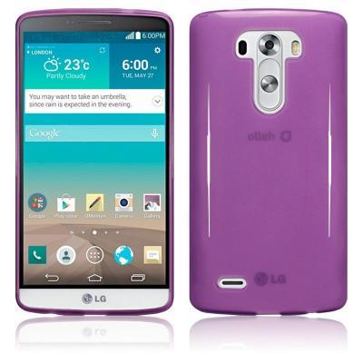 FlexiCase Skal till LG G3 (Lila)