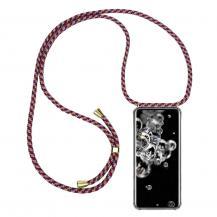 CoveredGear-NecklaceCoveredGear Necklace Case Samsung Galaxy S20 Ultra - Red Camo Cord