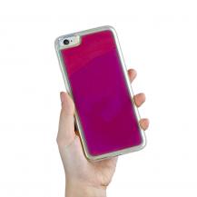 A-One BrandLiquid Neon Sand skal till iPhone 6/6s - Violet