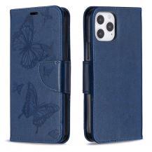 OEMImprint Butterfly Plånboksfodral iPhone 12 - Blå