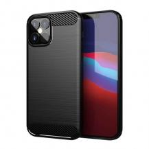 HurtelCarbon series iPhone 12/12 Pro Skal Svart