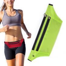 HurtelUltimate löpar bälte med hörlurs utag Grön