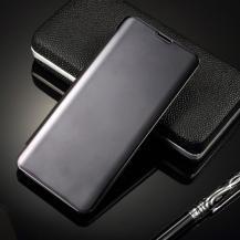 A-One BrandWindow Mirror Fodral till Samsung Galaxy S10 Plus - Svart