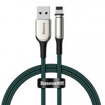 BASEUSBaseus Zinc magnetisk USB Kabel - lightning 2A 1m Grön
