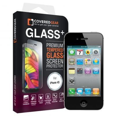 CoveredGear härdat glas skärmskydd till iPhone 4/4s