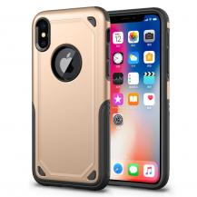 A-One BrandRugged Armor Skal till Apple iPhone XS / X - Gold