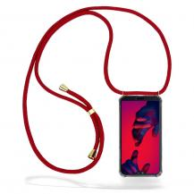 CoveredGearCoveredGear Necklace Case Huawei P20 Pro - Maroon Cord