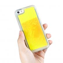 A-One BrandLiquid Neon Sand skal till iPhone 5/5s/SE - Orange