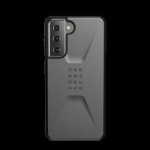 UAGUAG Samsung Galaxy S21 Civil-Fodral Silver