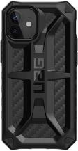 UAGUAG Monarch Skal iPhone 12 Mini - Carbon Fiber