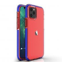 HurtelSpring Case iPhone 12/12 Pro skal Mörk Blå