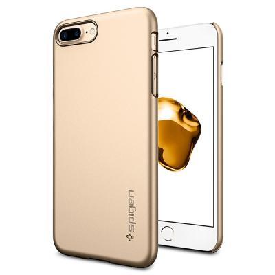 SPIGEN Thin Fit Skal till Apple iPhone 7 Plus - Gold