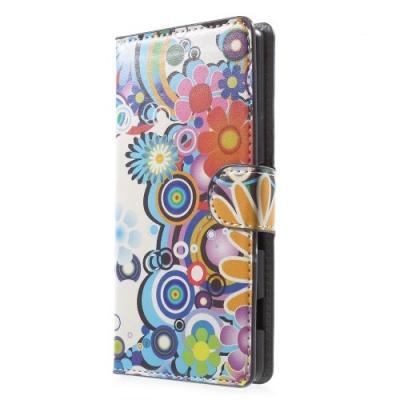 Plånboksfodral till Sony Xperia Z3+ - Flower Power