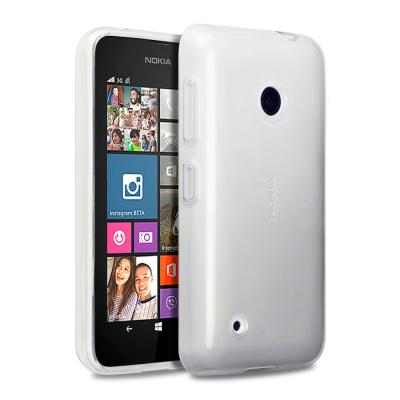 FlexiSkal till Nokia Lumia 530 (Transparent)