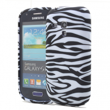 OEMFlexiCase Skal till Samsung Galaxy S3 Mini i8190 - (Zebra)