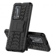 A-One BrandTyre Kickstand mobilskal till Huawei P40 Pro - Svart