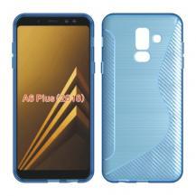 OEMFlexicase Mobilskal till Samsung Galaxy A6 Plus (2018) - Blå