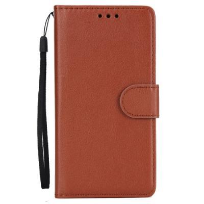 Plånboksfodral till iPhone XS Max - Brun