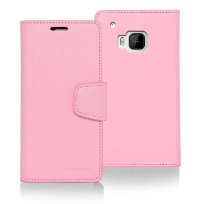 Mercury Sonata Plånboksfodral till HTC One M9 - Rosa