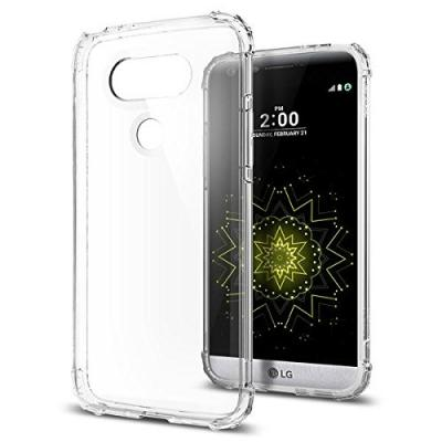 SPIGEN Crystal Shell Skal till LG G5 - Clear
