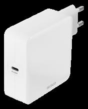 DeltacoDELTACO USB-C PD väggladdare, 65 W