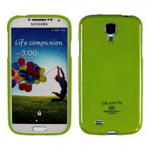 MercuryMercury Color Pearl Jelly FlexiSkal till Samsung Galaxy S4 i9500 (Grön)
