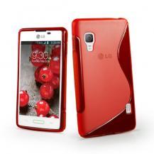 A-One BrandFlexiCase Skal till LG Optimus L5 II - E460 - (Röd)
