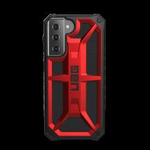 UAGUAG Samsung Galaxy S21 Monarch-Fodral Crimson