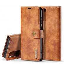 DG.MINGDG.MING Plånboksfodral 2-i-1 Split till Samsung S20 Ultra - Brun