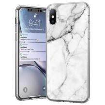 WozinskyWozinsky Marble skal iPhone 12 mini Vit