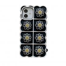 Fidget ToysSmiley Flower Pop it Fidget Skal till iPhone 7/8/SE (2020) - Svart