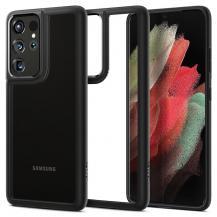 SpigenSPIGEN Ultra Hybrid Skal Galaxy S21 Ultra Matte Svart