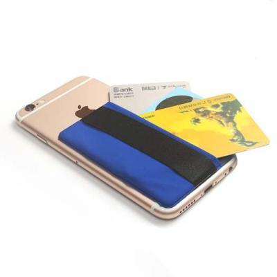 Kreditkortshållare för smartphones - Blå
