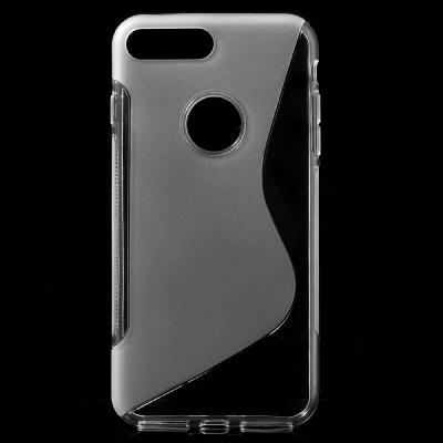 S-line Mobilskal till iPhone 7 Plus - Transparent