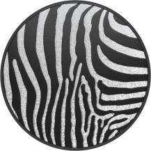 PopSocketsPOPSOCKETS Embossed Metal Zebra Avtagbart Grip med Ställfunktion LUXE