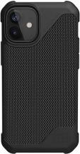 UAGUAG Metropolis LT Cover iPhone 12 Mini - Kevlar Black