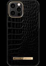iDeal of SwedeniDeal Atelier iPhone 12 Pro Max Skal - Neo Noir Croco