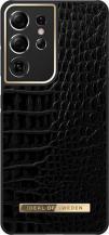 iDeal of SwedeniDeal Atelier Skal Samsung Galaxy S21 Ultra - Neo Noir Croco