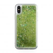 CoveredGearGlitter Skal till iPhone XS / X - Grön
