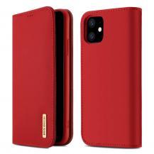 Dux DucisDUX DUCIS Wish Plånboksfodral för iPhone 11 - Röd