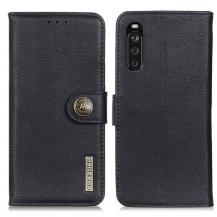 KHAZNEHKhanzeh - Plånboksfodral Sony Xperia 10 III - Svart