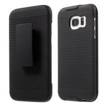OEMBältesfodral/Skal till Samsung Galaxy S7 Edge - Svart