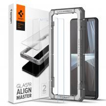 SpigenSpigen - ALM Glas.Tr 2-Pack Härdat Glas Sony Xperia 10 III