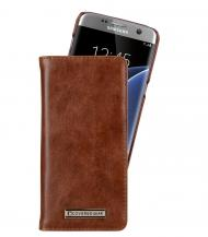 CoveredGearCoveredGear Signature Plånboksfodral till Samsung Galaxy S7 Edge - Brun