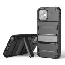 VERUSVRS DESIGN | Damda QuickStand Skal iPhone 12 Mini - Svart