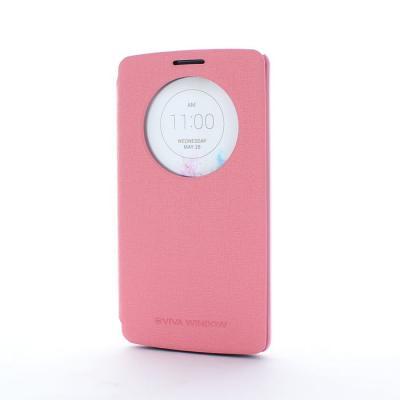 Mercury Viva Window Plånboksfodral till LG G3 (Rosa)