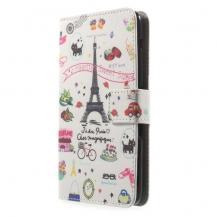 OEMPlånboksfodral till Sony Xperia E4 - EiffelTornet