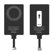 ChoetechChoetech Trådlös Adapter Qi - USB Type C - Svart